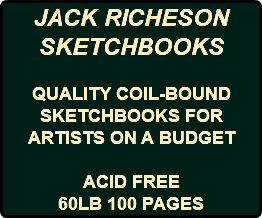 JACK RICHESON SKETCHBOOKS QUALITY COIL-BOUND SKETCHBOOKS FOR ARTISTS ON A BUDGET ACID FREE 60LB 100 PAGES